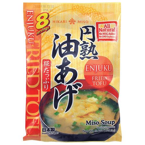 Hikari Instant Miso Soup Fried Tofu 8 Serves