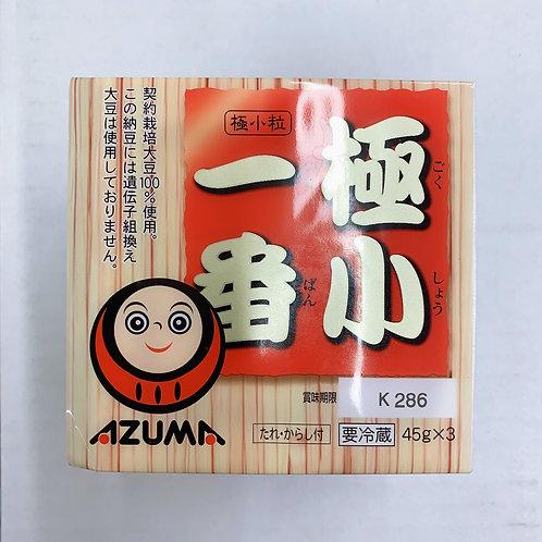 Azuma Natto 45g x 3 一番極小納豆