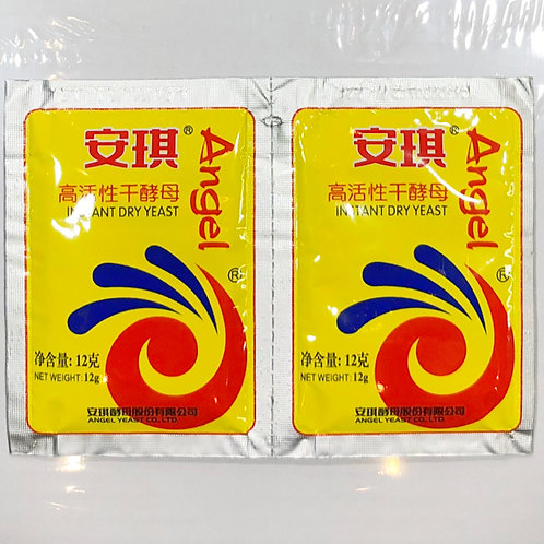 Angel Dry Yeast 12g 安琪高活性酵母