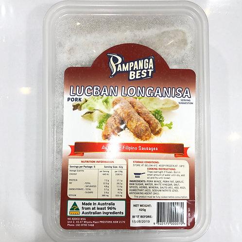 Pampanga Best Lucban Longanisa 420g