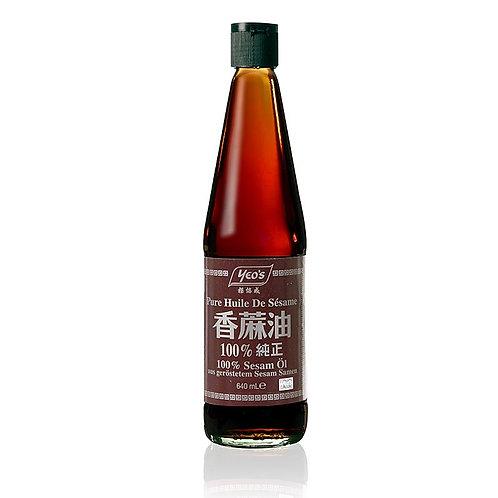 Yeo's Pure Sesame Oil 640ml 楊協成100%純正香麻油