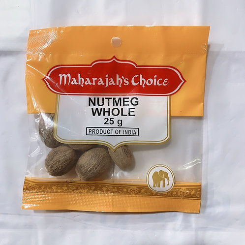 Maharajah's Choice Nutmeg Whole 25G