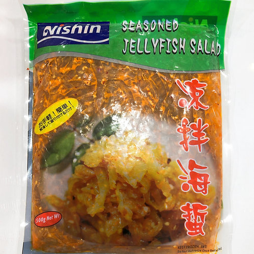 Aushin Seasoned Jellyfish Salad 500g 涼拌海蜇