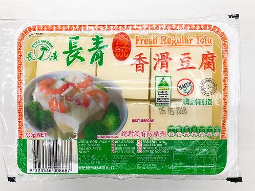 Uni-Green Regular Tofu 900g 長青香滑豆腐