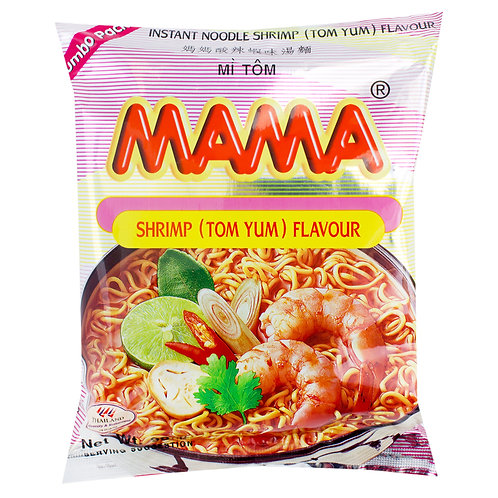 Mama Noodles Shrimp Tom Yum Flavour Pack of 20