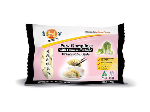 Hakka Pork Dumplings w Chinese Cabbage 400g