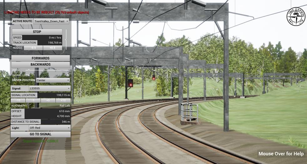 R2C - Virtual Signal Sighting Model Samp