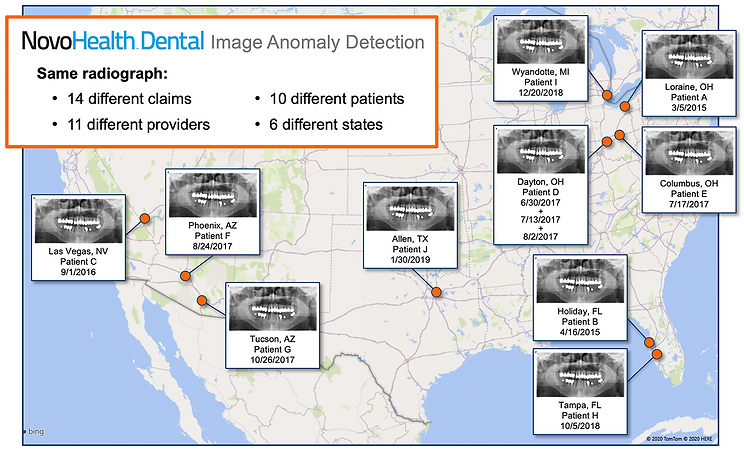NovoHealh Dental Radiograph Tracker R