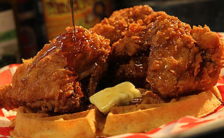 Firefly's BBQ A Waffle Lot o' Chicken