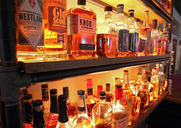 Bar Shelves - Dante's