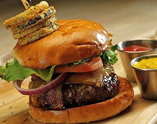 Firefly's BBQ Bodacious Burger