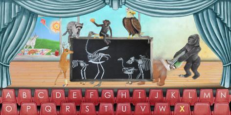 "Alphabet Stage - ""X"""