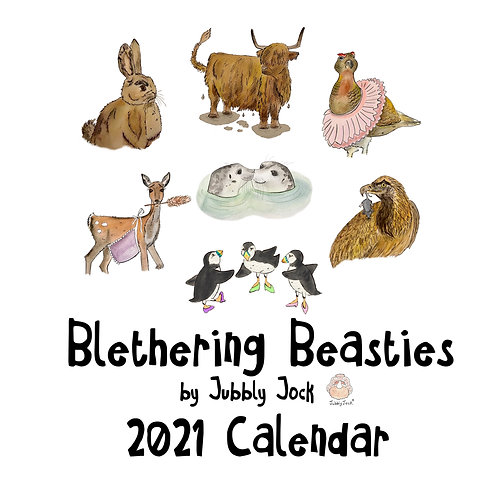 Blethering Beasties 2021 Calendar