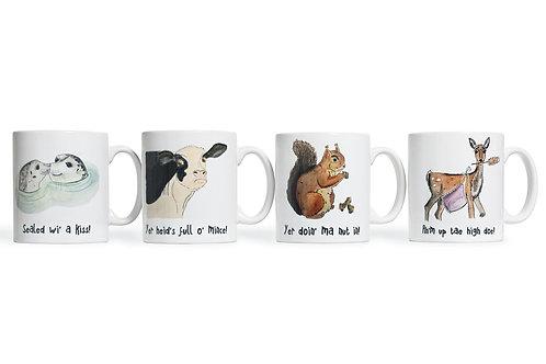 Blethering Beasties Mug