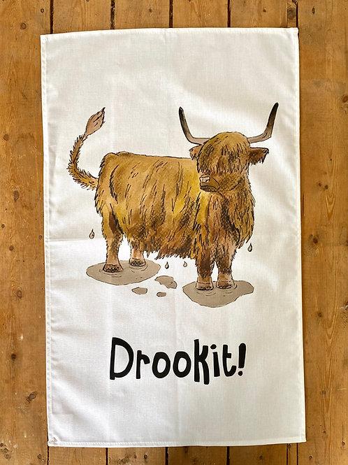 Drookit Tea Towel