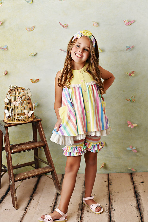 Over The Rainbow Tunic w/Shortie