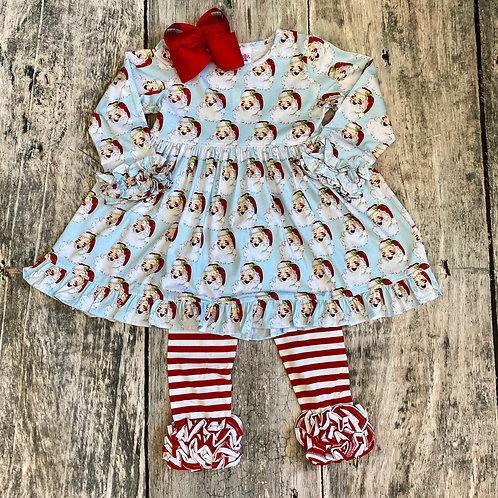 Knit Santa Dress Set
