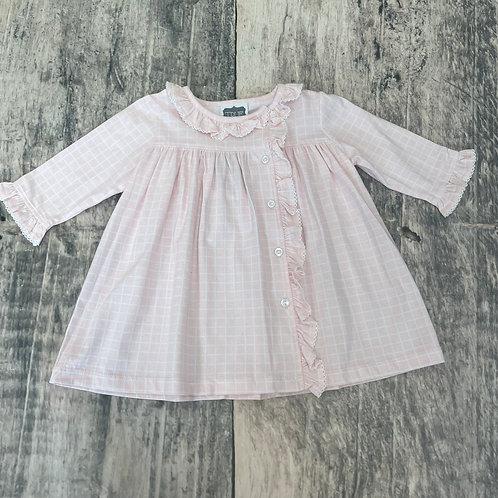 Side Ruffle Dress Pink