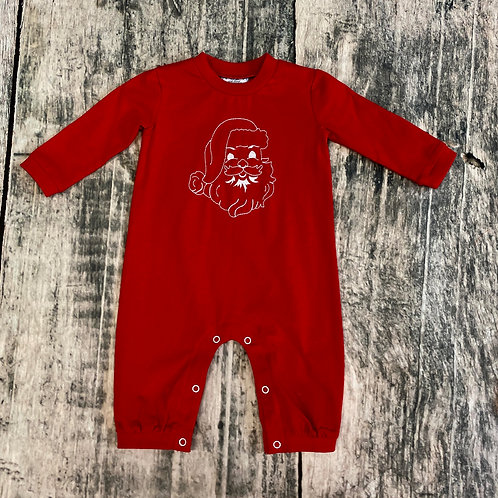 Santa Stitching Romper