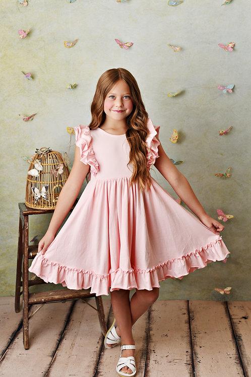 Bella Pocket Dress Blush Pink