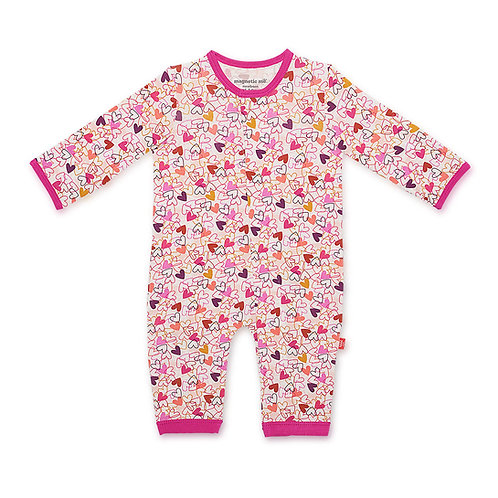 Heart to Heart Modal Magnetic Coverall