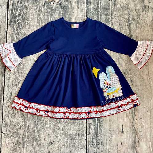 O'Holy Night Applique Dress