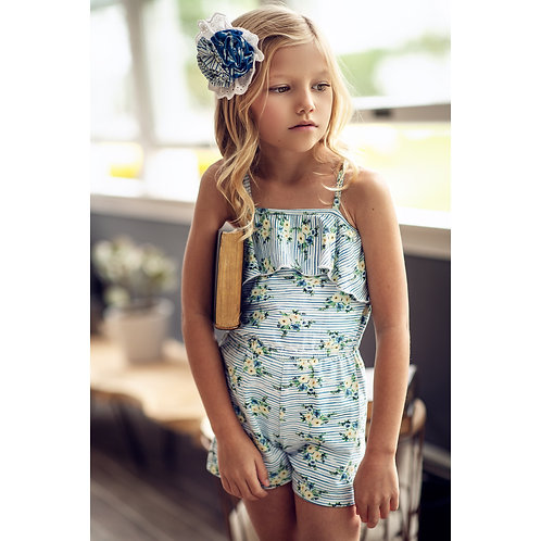 Brianna Romper Nautical Summer