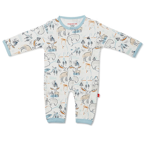 Northern Lights Organic Cotton Magnetic Coverall