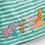 Thumbnail: Safari Appliqué Dress Duck Egg