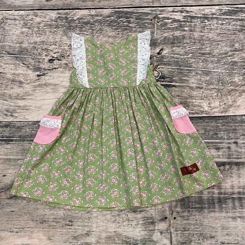 Spring Bouquet Dress w/lace