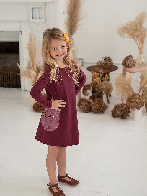 Fall Bloom Knit Dress