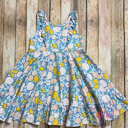 Lemon Twirl Dress