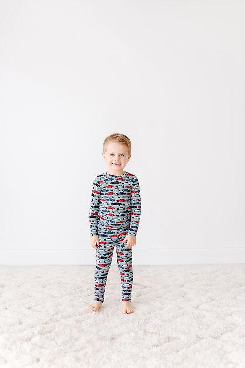 Miles Long Sleeve Basic Loungewear