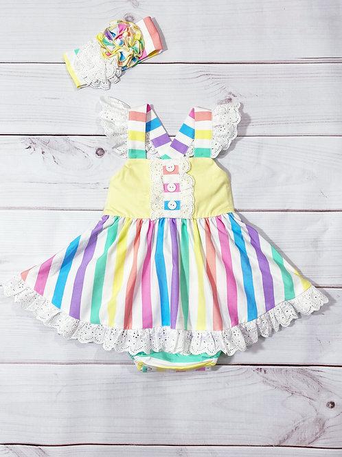 Over The Rainbow Bubble Dress