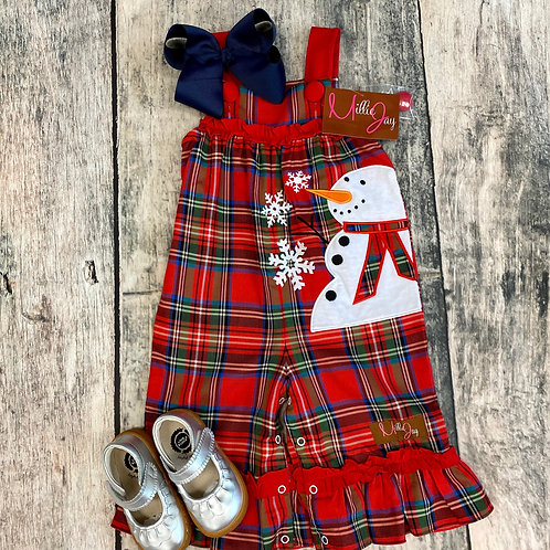 Snowman Applique Romper