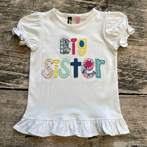Big Sister Appliqué T-Shirt