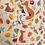 Thumbnail: Vegetable Print Pet In Pocket Dress Natural