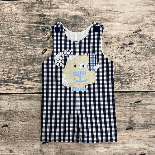 Navy Puppy Shortall