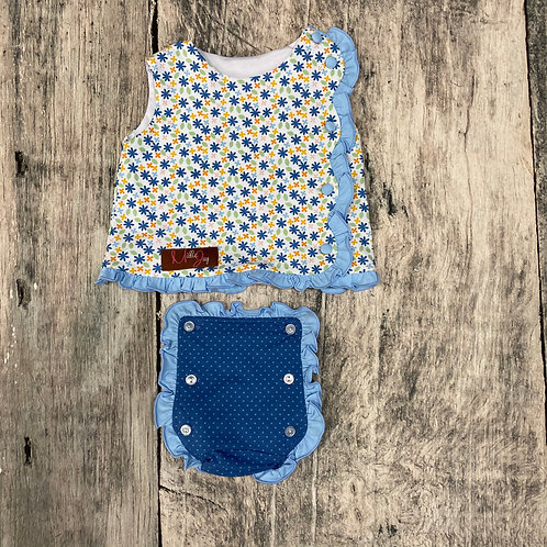 Field of Daisies Diaper Set