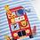 Thumbnail: Safari Bus Appliqué Romper Blue
