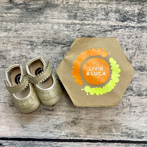 Livie & Luca Ruche Champagne baby