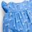 Thumbnail: Pretty Daisy Sunsuit Blue