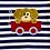 Thumbnail: Puppy Ride Appliqué Romper