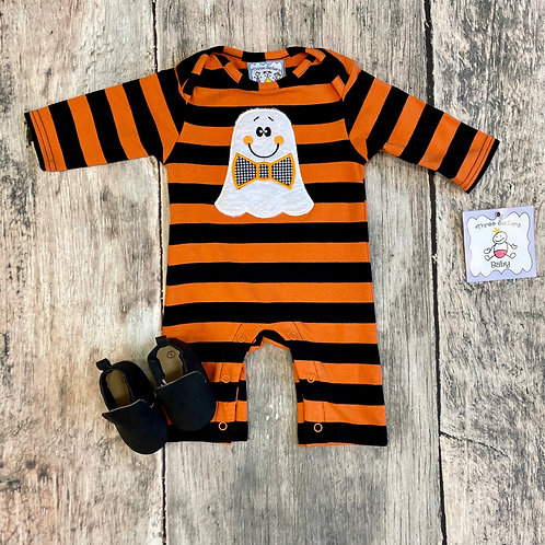 Ghost appliqué Boys Romper