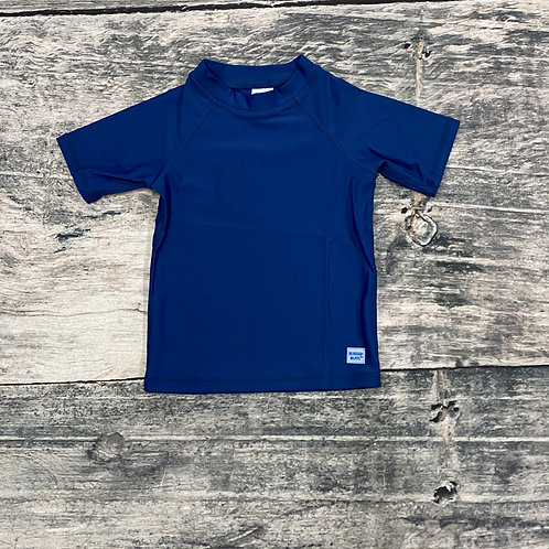Navy Short Sleeve Rash Guard
