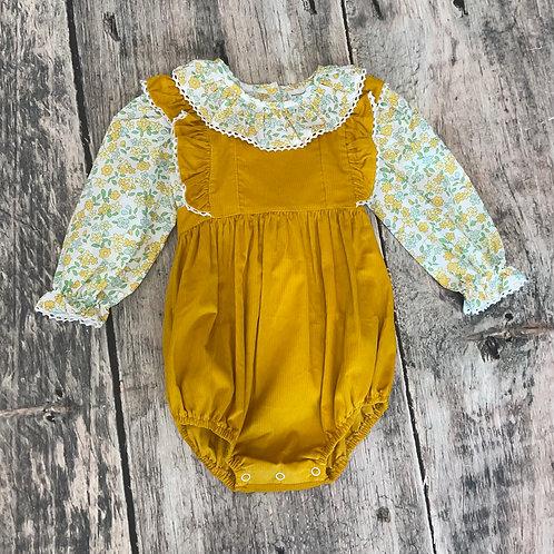 Lace Bubble Set Mustard