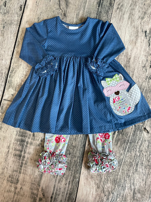 Raccoon Dress Set
