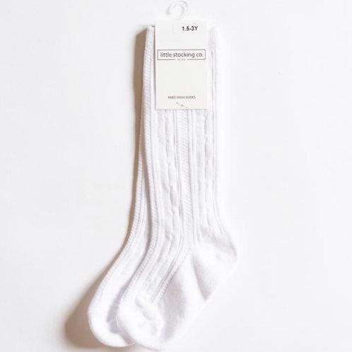 Knee High Socks White