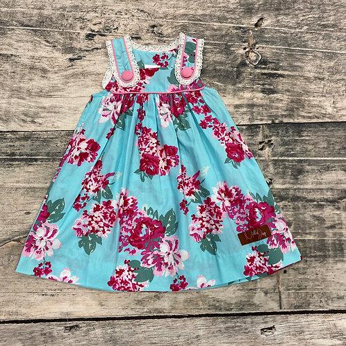 Pocketful of Posies Dress w/lace
