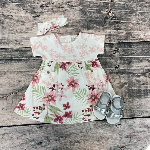 Tropical Blooms Dress
